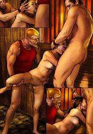 Bdsm Mr Kane's - brutal ordeal, life in the stables, without confession