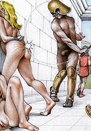 Feel his pudgy fingers grabbing my hair - Slaves of Troy by Tim Richards