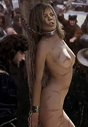 Witch hunt - They adjusted the ropes so that her head hung back over the edge of the table by Damian