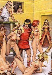 Stop your girlish shrieking Trojan slave - Slaves of Troy by Tim Richards