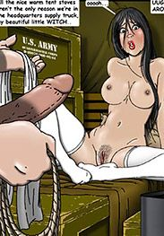 Now what will you do with me, you dirty brutal animal? - SS prison hell is back! Part 2! by Gary Roberts