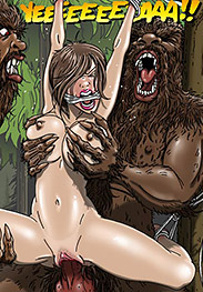 Disgusting nasty fuckers, you stink - The woods have eyes by Gary Roberts