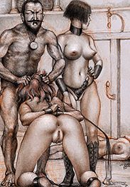 The blond is a good fuck - Sex captives of terror prison by Tim Richards