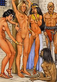 Oh, his balls must be about to burst - Slaves of Troy by Tim Richards