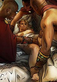 Enemies of Rome - She masturbated three times, but it didn�t help by Mr.Kane 2016