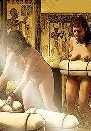 Goddesses, queens and slaves - Excellent place to train and punish slaves by Mr.Kane 2018