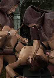 Witch hunt - Open your mouth, witch, and suck a holy cock for a change by Damian