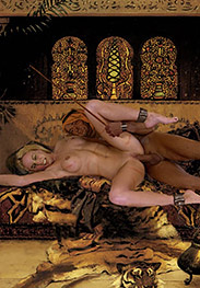 Slavegirls in an oriental world - She started breathing faster and her nostrils flared by Damian