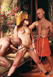 Bdsm Damian - decimus laughed as he yanked the blood cock-spear out of her wounded fuckhole