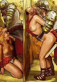 Enemies of Rome - Slaves could be free men and women one day if they were lucky by Mr.Kane 2016