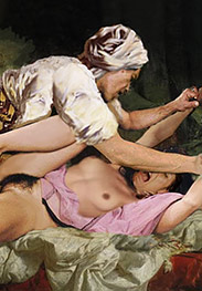 Slavegirls in an oriental world - Show my sons your anus and your cunt, slave by Damian