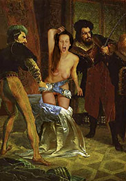Witch hunt - As he fucked her he slapped her breasts hard, forehand and backhand by Damian